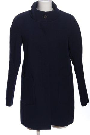 Esprit Abrigo largo azul look casual
