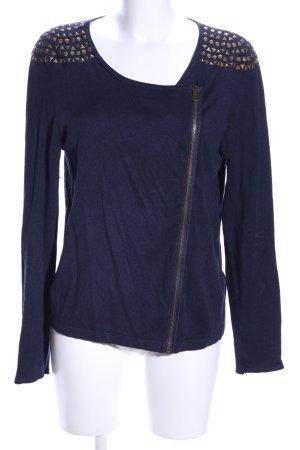 Esprit Bolero blau meliert Casual-Look