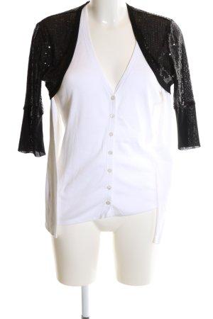 Esprit Bolero weiß-schwarz Elegant