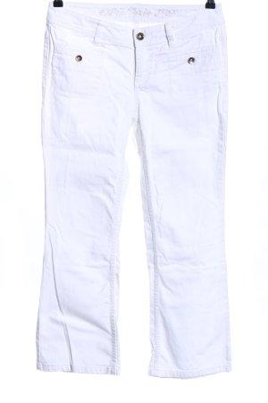 Esprit Boot Cut Jeans weiß Casual-Look