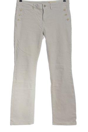 Esprit Vaquero de corte bota blanco puro look casual