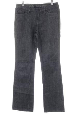 Esprit Boot Cut Jeans anthrazit-schwarz schlichter Stil