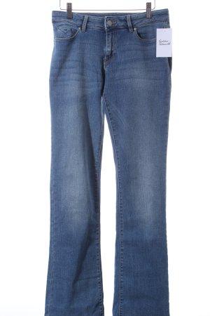 Esprit Boot Cut Jeans blau Casual-Look