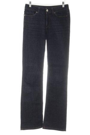Esprit Boot Cut Jeans blau-dunkelblau Casual-Look