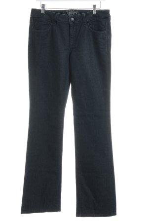 Esprit Boot Cut Jeans dunkelblau Casual-Look