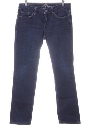 Esprit Boot Cut Jeans dunkelblau Dandy-Look