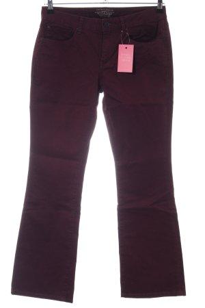 Esprit Jeans bootcut rouge style décontracté