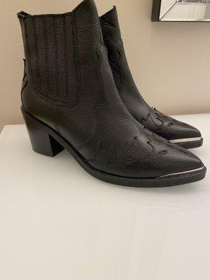 Esprit Boots Cowboy Stiefel schwarz 40