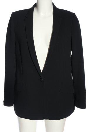 Esprit Boyfriend-Blazer schwarz Casual-Look