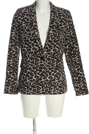 Esprit Boyfriend blazer luipaardprint casual uitstraling