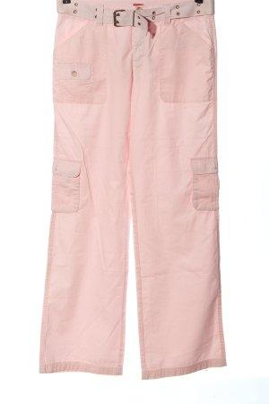 Esprit Pantalon cargo rose style décontracté