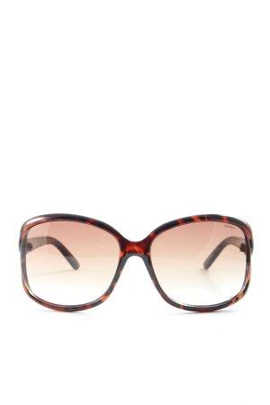Esprit Gafas negro-naranja claro estampado repetido sobre toda la superficie
