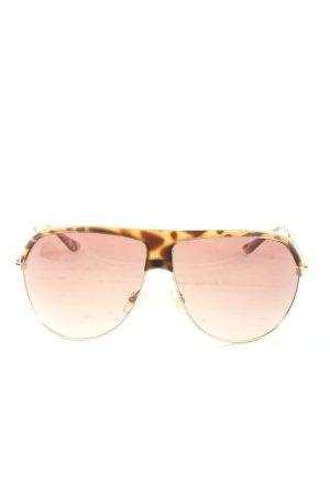 Esprit Gafas rosa-marrón estampado de leopardo look casual