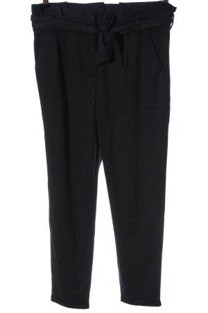 Esprit Pantalon à pinces noir style décontracté