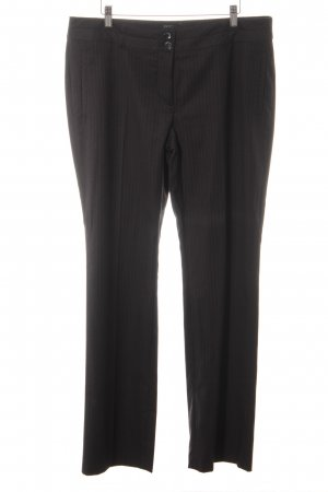 Esprit Bundfaltenhose anthrazit-wollweiß Business-Look
