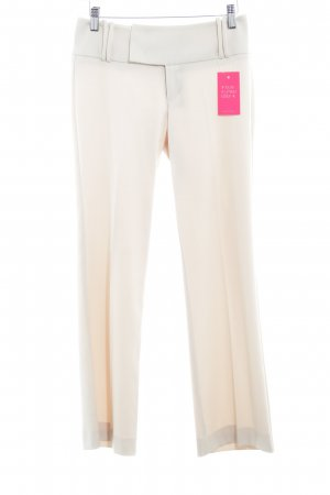 Esprit Bundfaltenhose creme Business-Look