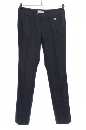 Esprit Pleated Trousers blue flecked business style