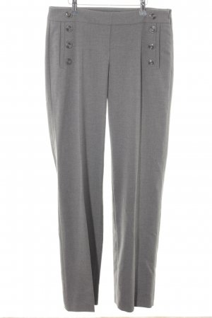 Esprit Bundfaltenhose grau meliert Business-Look