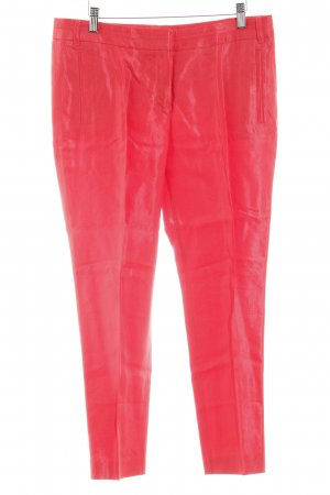 Esprit Bundfaltenhose rot Webmuster Business-Look