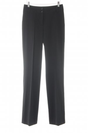 Esprit Bundfaltenhose schwarz Business-Look