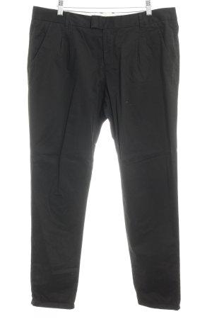 Esprit Bundfaltenhose schwarz Elegant