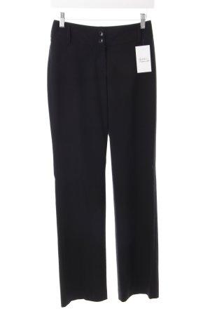 Esprit Bundfaltenhose schwarz klassischer Stil