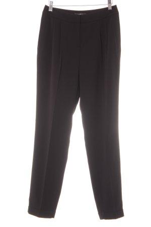 Esprit Bundfaltenhose schwarz schlichter Stil