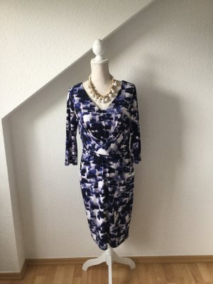 Esprit Business Kleid blaugemustert  !