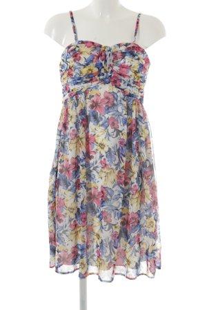 Esprit Sukienka gorsetowa Wzór w kwiaty