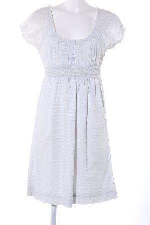 Esprit Vestido bustier blanco estampado repetido sobre toda la superficie