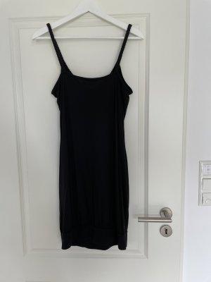 Esprit by Edc Kleid Gr M mit dünnen Trägern in schwarz