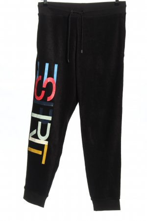 Esprit by Opening Ceremony Sweat Pants black printed lettering casual look