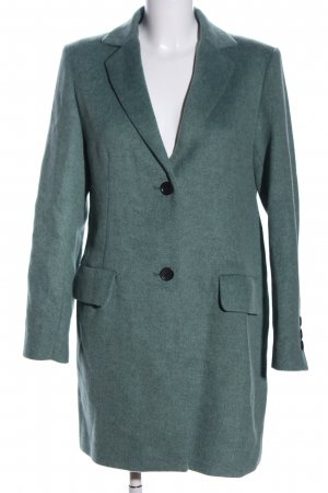 Esprit Cabanmantel grün meliert Business-Look
