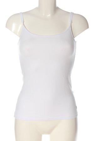 Esprit Podkoszulek na ramiączkach biały W stylu casual