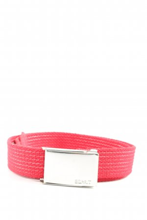 Esprit Canvas Belt red casual look