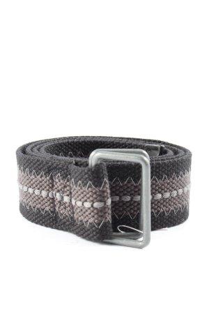 Esprit Cintura in tela nero-marrone stile casual