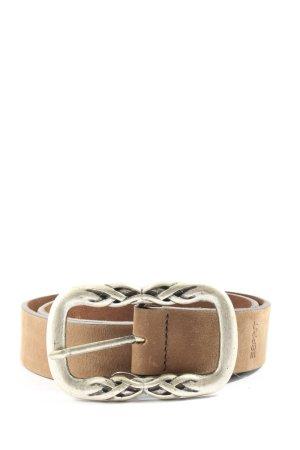 Esprit Pasek materiałowy brązowy-srebrny W stylu casual