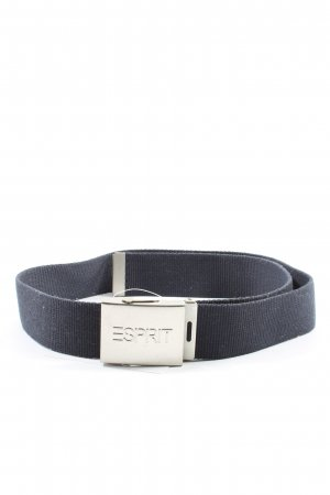 Esprit Canvas Belt black casual look
