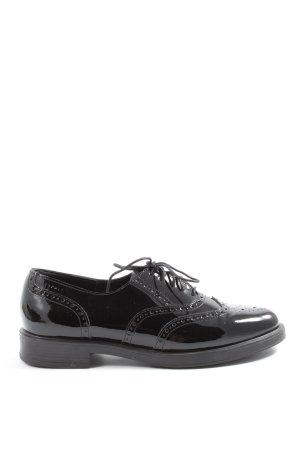Esprit Buty z noskiem czarny W stylu casual