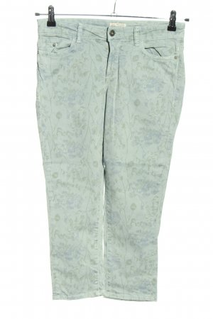 Esprit Spodnie Capri turkusowy Na całej powierzchni W stylu casual
