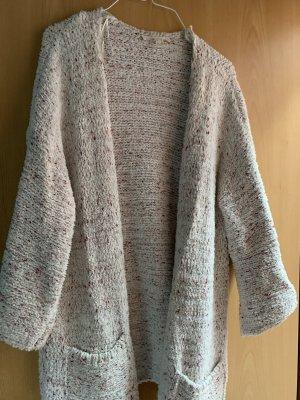 Esprit Manteau en tricot crème-violet