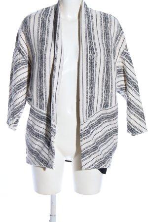 Esprit Cardigan schwarz-weiß Allover-Druck Casual-Look