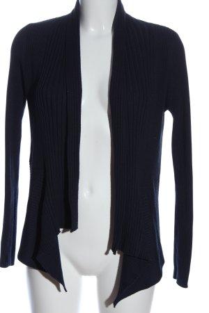 Esprit Cardigan bleu motif rayé style décontracté