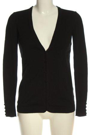 Esprit Cardigan schwarz Casual-Look