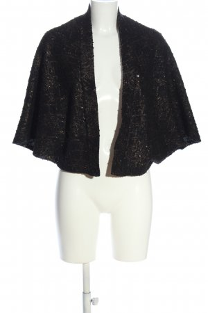 Esprit Cardigan schwarz abstraktes Muster Elegant
