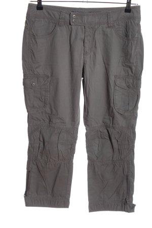 Esprit Pantalon cargo gris clair style décontracté