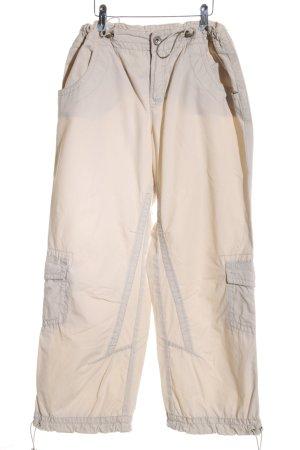 Esprit Cargo Pants cream casual look