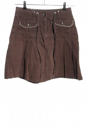 Esprit Cargo Skirt brown casual look
