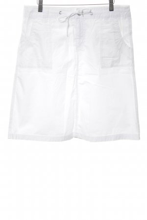 Esprit Spódnica militarna biały W stylu casual