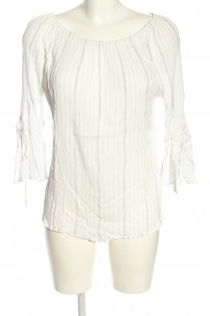Esprit Carmen Blouse white-light grey striped pattern casual look
